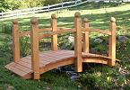 Gartenbrücke Zierbrücke Holz Gartenbrücken Zierbrücken