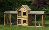 Kaninchenstall Holz Kleintierstall mit Freilaufgehege