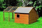 Hühnerstall Holz Kleintierstall mit Freilaufgehege