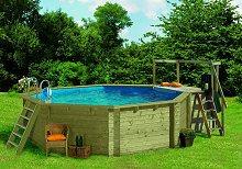 Holzpool garten pool holz swimmingpool holzpools for Gartenpool zum aufstellen