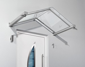 Top Vordächer Alu-Glas günstig Vordach.Holzkomplett.de QD98