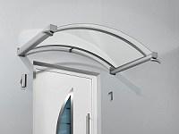 Bogenvordach günstig mit Acryl-Glas Vordächer